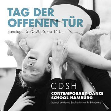 Die Contemporary Dance School Hamburg lädt ein zum Tag der offenen Tür 2016