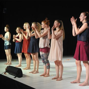 Jahrgang 2011–2014 der Contemporary Dance School Hamburg – Impuls