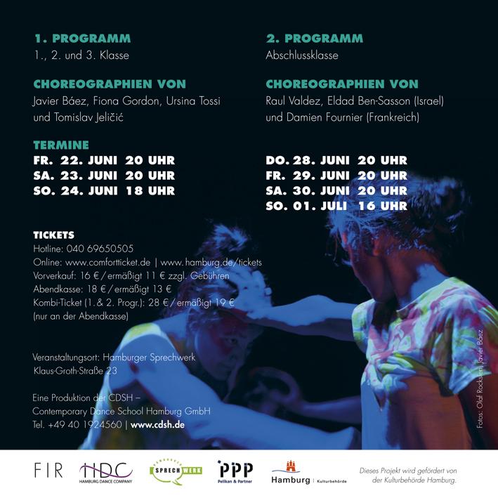Contemporary Flyer   Flyer Wp 2018 Hin Web Cdsh Contemporary Dance School Hamburg